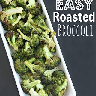 Easy Roasted Broccoli.