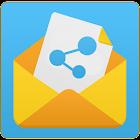 SMS Share 2 -Print,Convert,Export,Backup PDF,CSV icon