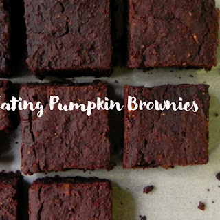 Clean Eating Pumpkin Brownies