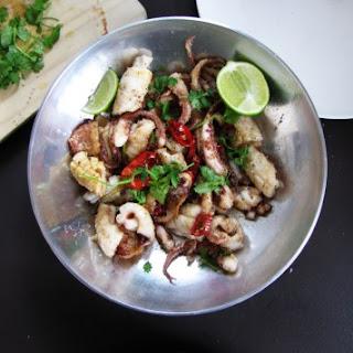 Salt and Pepper Squid.