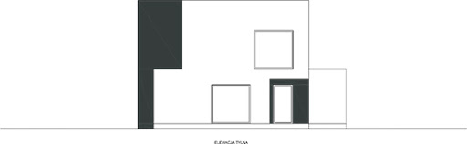 Wyważony D29 - Elewacja tylna
