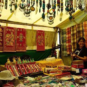 At a Street Shop...Darjeeling by Anupam Pal - People Street & Candids
