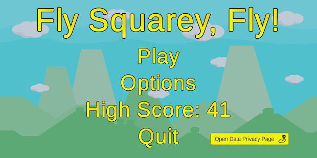 Fly Squarey Fly! - Screenshot