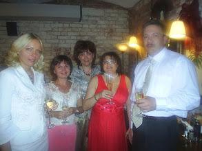 """Photo: Москва. р-н """"Каприччо"""". Лидерская встреча. 2007"""