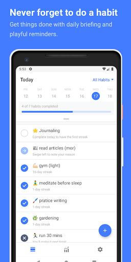 Habitify Habit Tracker 6.1.0 screenshots 1