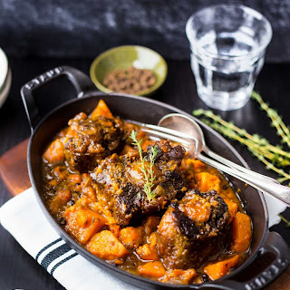 Jamaican Oxtail & Sweet Potato Stew – Paleo