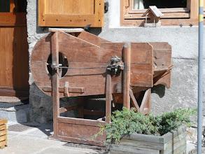 Photo: Le vieux vanoir de l'ancienne ferme