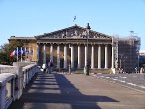 Photo: Today's tour will be the National Assembly complex. The building was completed in 1728, but the classical portico was not added until 1808, by order of Napoleon.