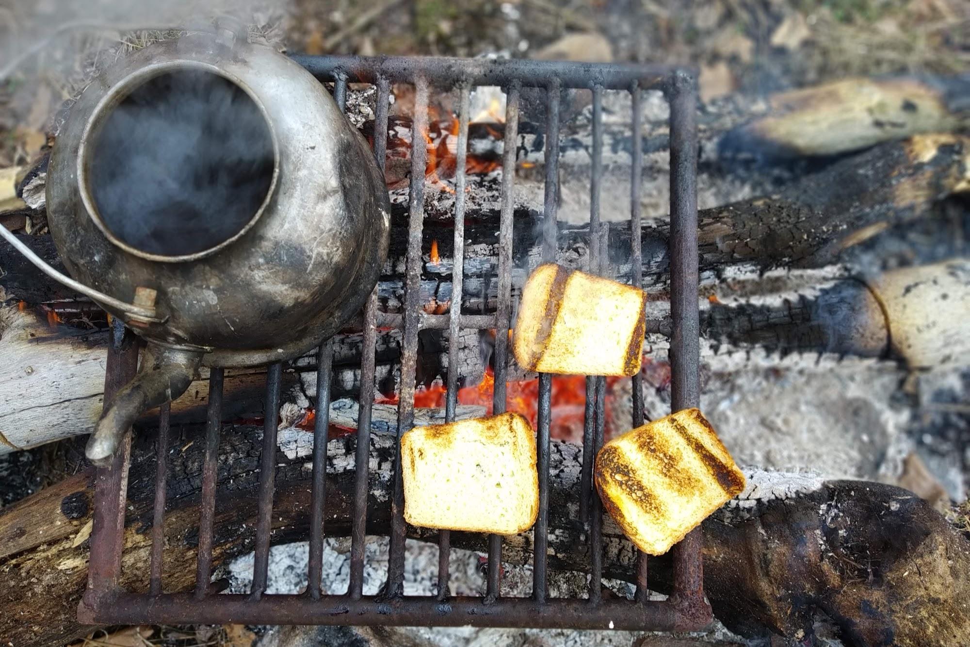 Тости на вогні