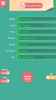 Stadt Land Fluss kostenlos screenshot 01