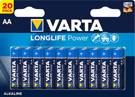 VARTA LONGLIFE Power AA/LR6 20-PACK