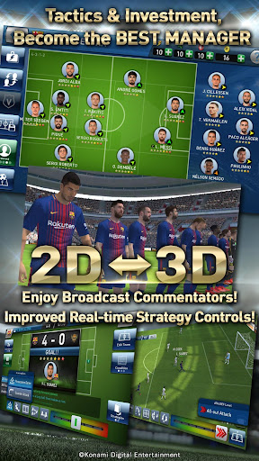 PES CLUB MANAGER  gameplay | by HackJr.Pw 2