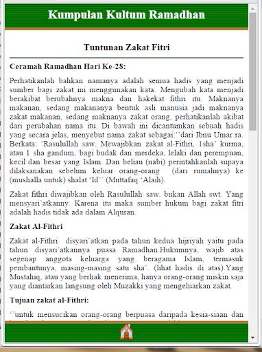 Kultum Kajian Ramadhan
