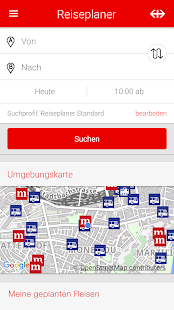 SBB Reiseplaner Preview- screenshot thumbnail