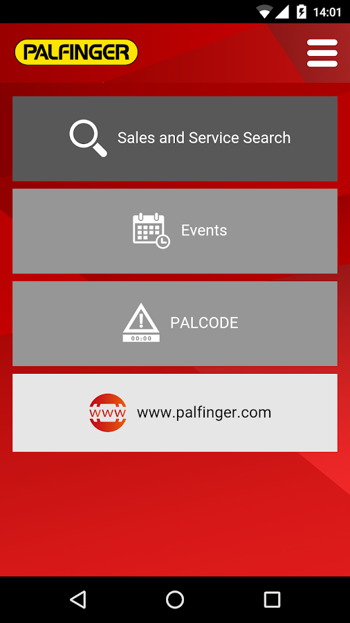 PALFINGER Mobile- screenshot