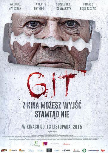 Przód ulotki filmu 'Git'