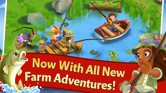 FarmVille 2 Country Escape Mod Apk 16.5.6377 (Free Shopping + Gems) 2