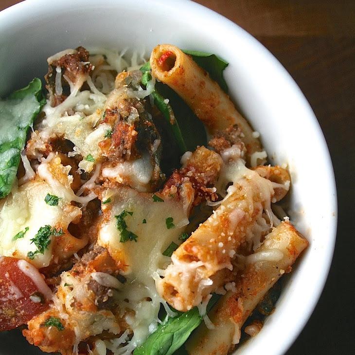 Lasagna-Style Baked Ziti Recipe | Yummly