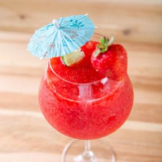 Easy Strawberry Daiquiri.