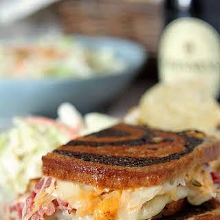 Homemade Reuben Sandwiches.
