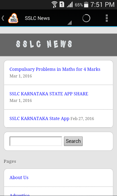 Sslc topper karnataka state android apps on google play sslc topper karnataka state screenshot malvernweather Image collections