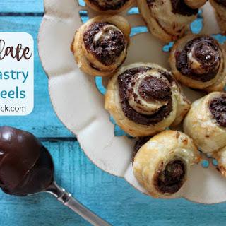 Chocolate Puff Pastry Pinwheels.