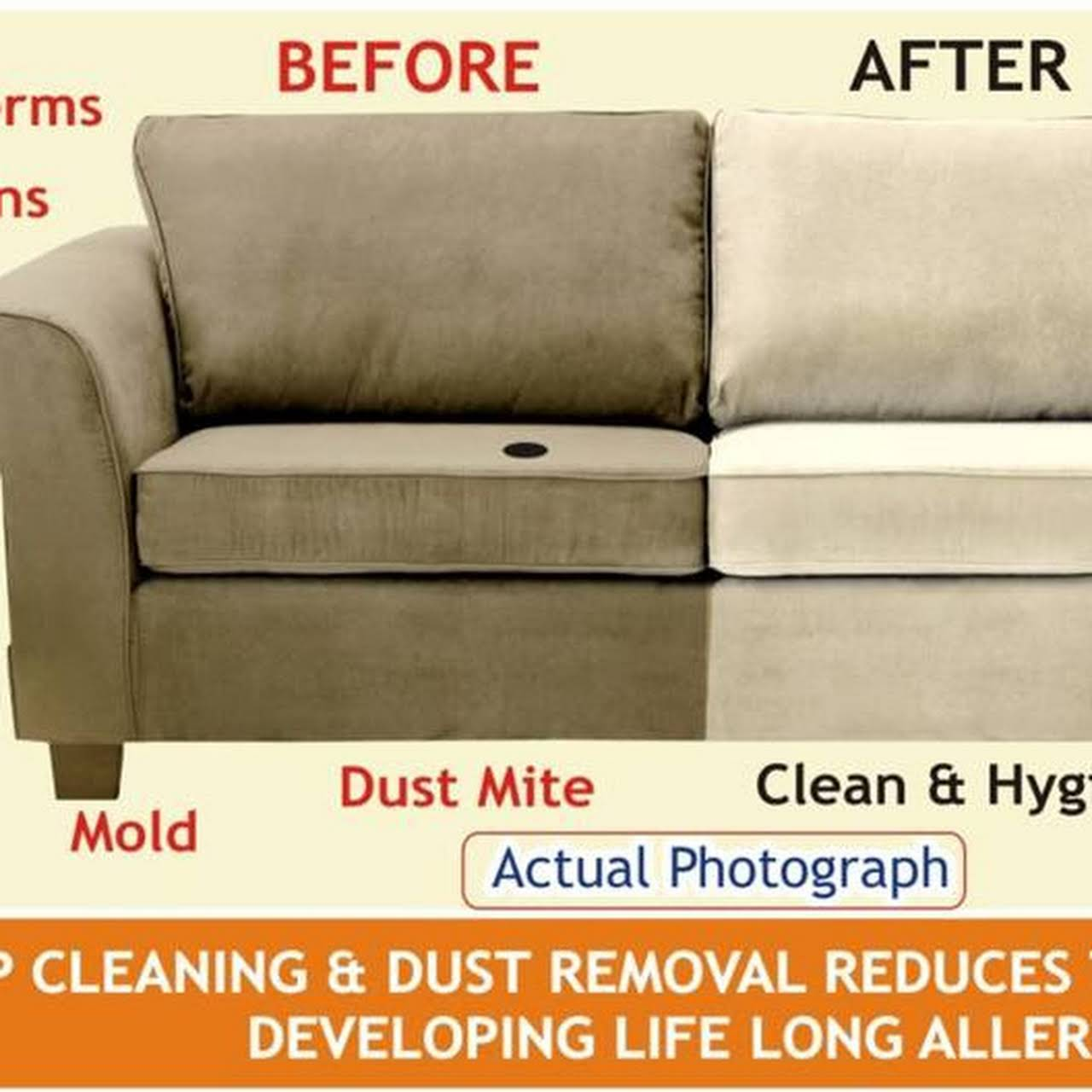 Sofa Dry Cleaning Services At Home