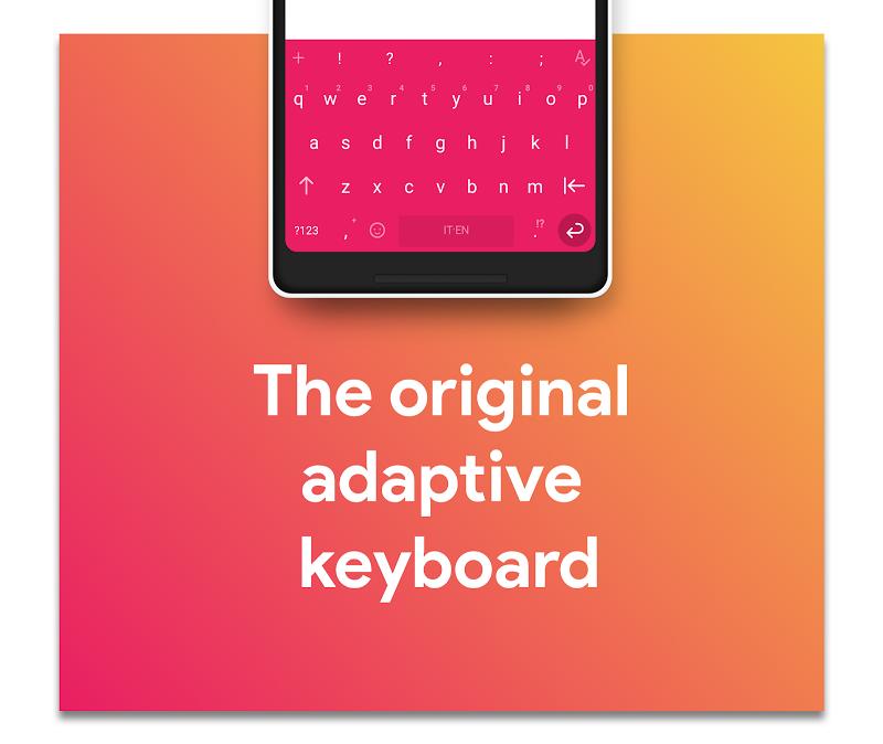 Hydrogen Keyboard Chrooma - Swipe, Fast, Typing Screenshot 4