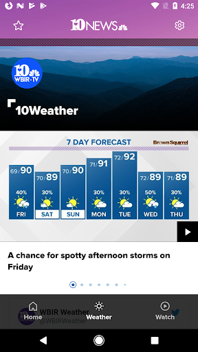 Knoxville News from WBIR screenshots 2