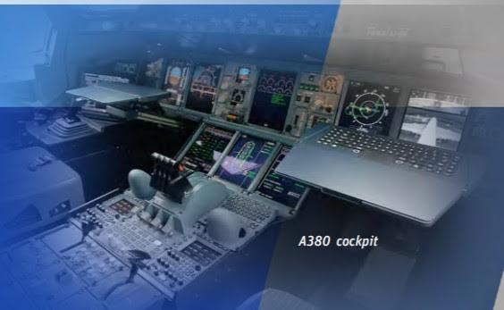 ANSYS - Фотография из кабины экипажа самолёта A380 даёт представление о сложности самолётных систем и оборудования