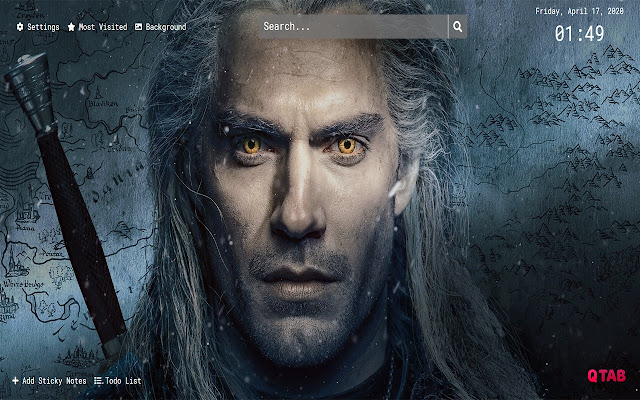 The Witcher Wallpapers HD New Tab Theme