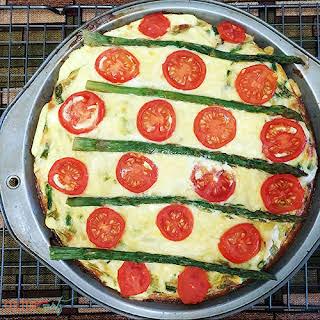 No Crust Asparagus Quiche.