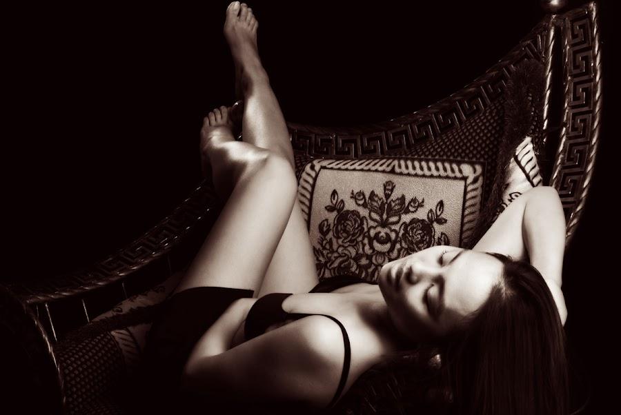 Just once... by Dj Hostalero - People Portraits of Women ( sepia, djmaculet, seductive )
