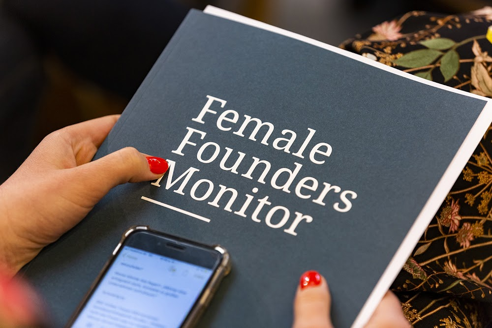 Why we support female founders