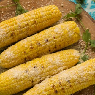 Grilled Garlic Parmesan Corn on the Cob.