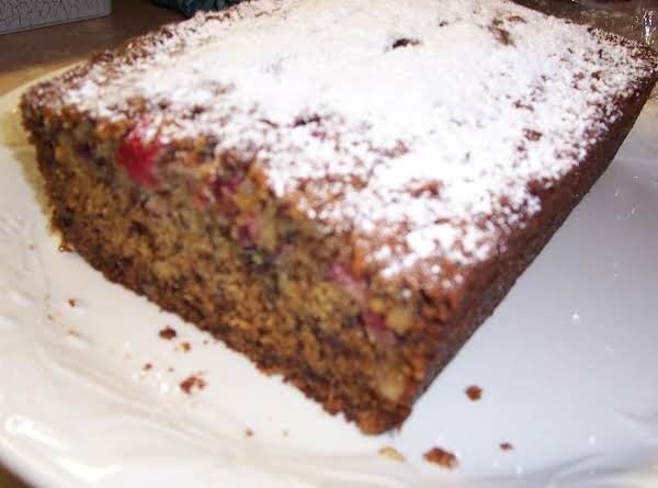 Banana Cran Bread Recipe