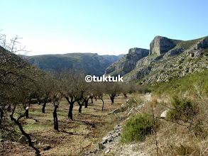 Photo: Between Val D'Ebo and Castell castells
