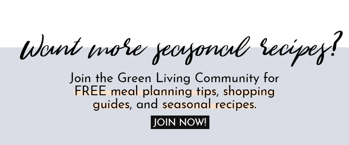 Click here to subscribe to the Green Living Community