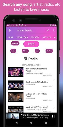 Download music, Free Music Player, MP3 Downloader 1.126 screenshots 4