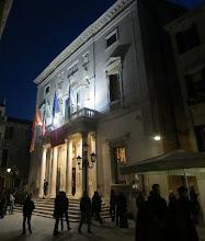 Photo: VENEDIG / Teatro La Fenice. Haupteingang. Foto: Dr. Klaus Billand