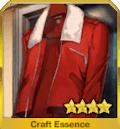 赤いジャンパー