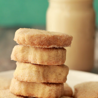 Small Batch Vegan Shortbread Cookies.