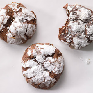 Deep Dark Chocolate Cookies No Flour Or Butter Recipes.