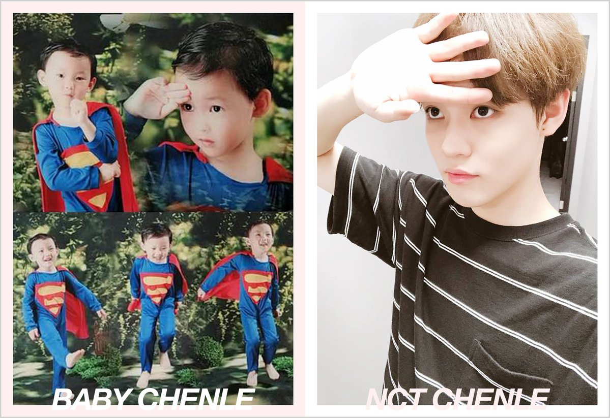 NCT Recreated Their Baby Pictures In Honor Of Children's Day, And