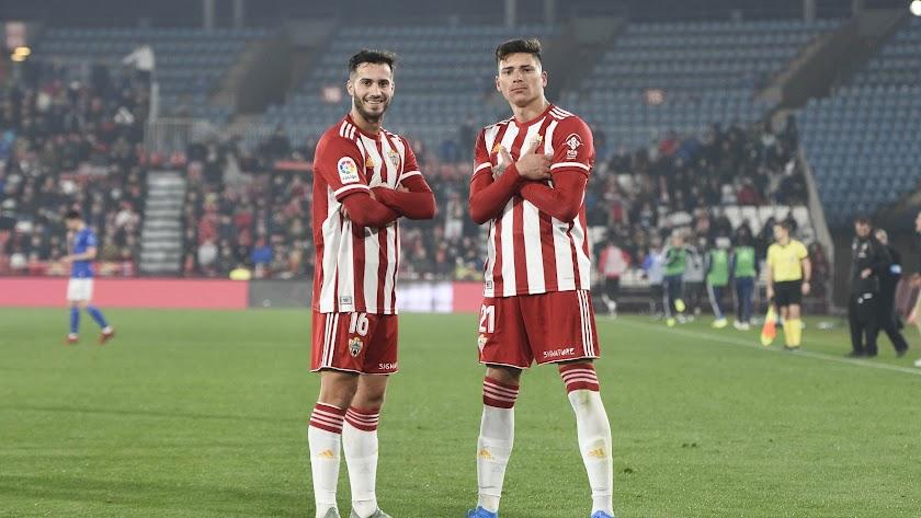 Lazo y Darwin serán dos jugadores importantes para el Almería.