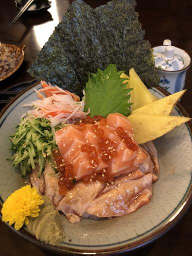 鮭魚親子丼飯🤤🤤