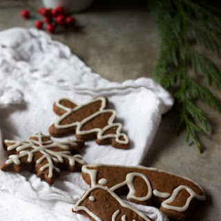 Fresh Gingerbread Cookies.