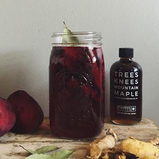 Maple Beet Shrub