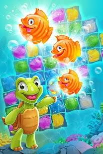 Mermaid - treasure match-3 - náhled