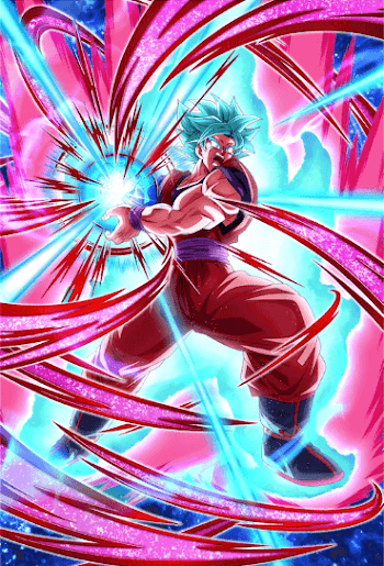 最後の超パワー・超サイヤ人ゴッドSS孫悟空(界王拳)